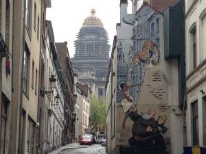 Parcours BD Bruxelles Palais de Justice