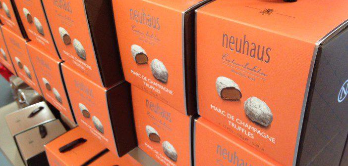 neuhaus chocolat usine
