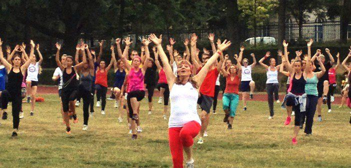 friskis&svettis sport dans les parcs de Bruxelles gratuit