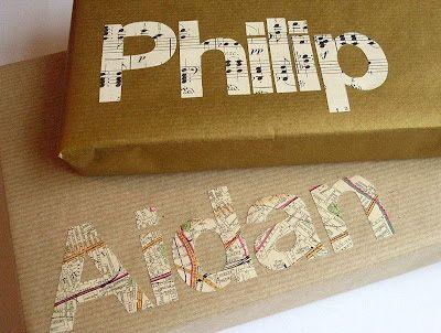 idée emballage cadeau personalisé