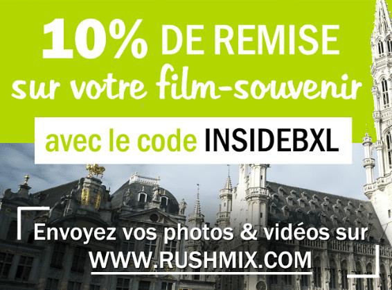 montage vidéo quand il pleut à Bruxelles