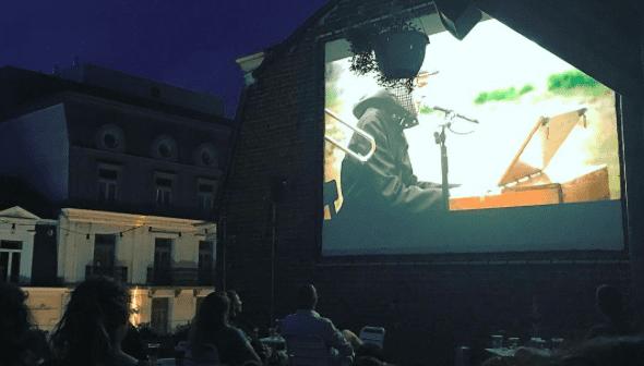 Beursschouwburg rootop cinéma Bruxelles