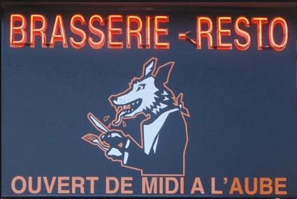 Manger tard à Bruxelles au loup voyant