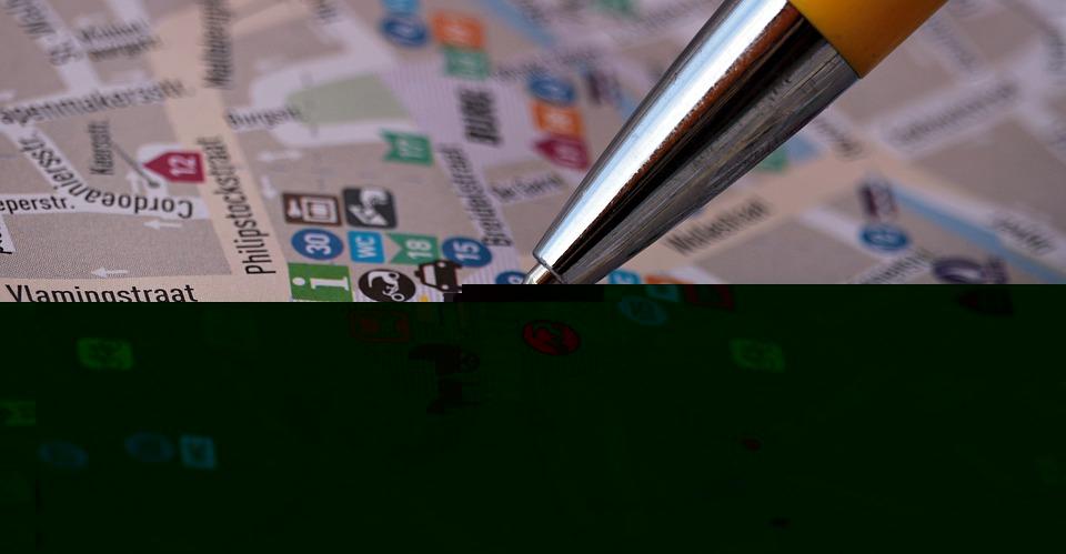 Bruges ou Bruxelles Belgique Carte