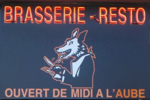 Le loup voyant manger tard à Ixelles