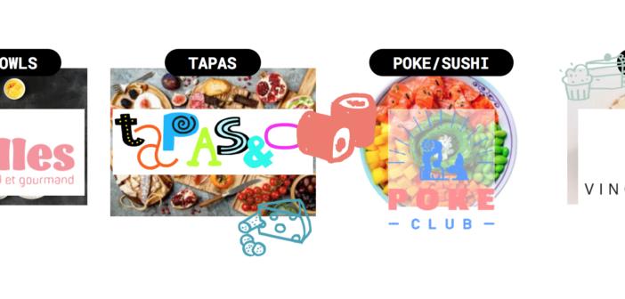 Les différents restaurants THE WOLF FoodMarket