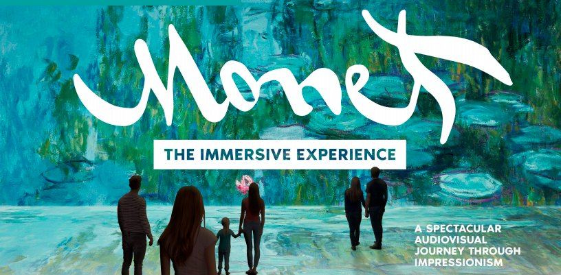 Ne manquez pas l'exposition Claude Monet Virtual Reality à Bruxelles