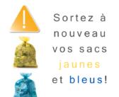 Que se passe-t'il Le ramassage des poubelles bleues et jaunes à Bruxelles pendant le confinement COVID-19?
