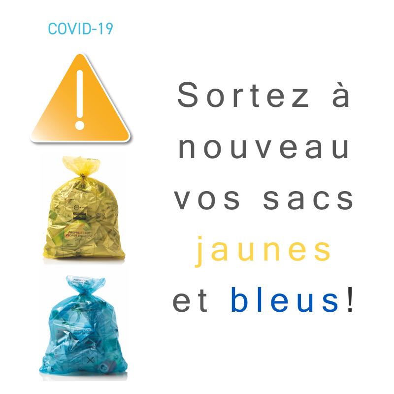 Ramassage des poubelles à Bruxelles confinement covid19 (c) proprete.brussels