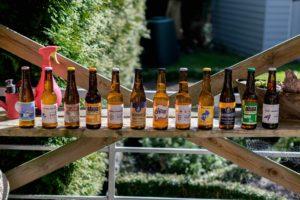Les bières qu'on peut acheter sur le site de BREWKSEL
