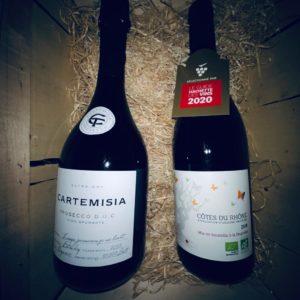Des vins Français livré chez vous en Belgique via Les Grandes Eaux