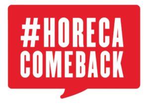 Soutenir l'HORECA via HORECACOMEBACK (c) HORECACOMEBACK